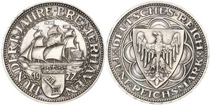 5 Марка Веймарська республіка (1918-1933) Срібло