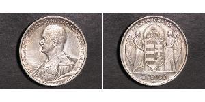 5 Пенге Королевство Венгрия (1920 - 1946) Серебро Хорти, Миклош