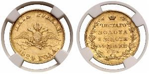 5 Рубль Российская империя (1720-1917) Золото Александр I (1777-1825)