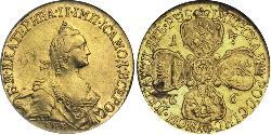 5 Рубль Російська імперія (1720-1917) Золото Катерина II (1729-1796)