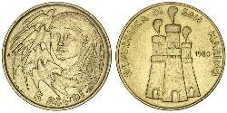 5 Скудо Сан-Маріно Золото