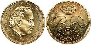 5 Франк Монако  Реньє III