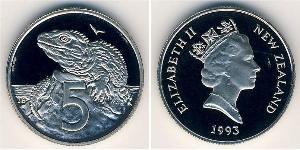5 Цент Новая Зеландия Никель/Медь