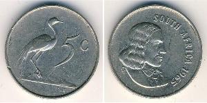 5 Цент Южно-Африканская Республика Никель/Медь