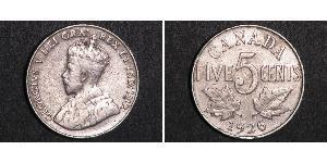 5 Цент Канада Нікель Георг V (1865-1936)