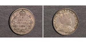 5 Цент Канада Серебро Эдуард VII (1841-1910)