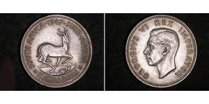 5 Шиллинг Южно-Африканская Республика Серебро Георг VI (1895-1952)