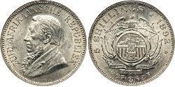 5 Шилінг Південно-Африканська Республіка Срібло Поль Крюгер (1825 - 1904)