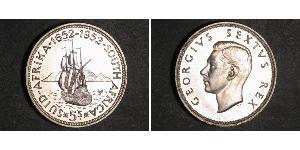 5 Шилінг Південно-Африканська Республіка Срібло Георг VI (1895-1952)