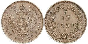 5/10 Kreuzer Kaisertum Österreich (1804-1867) Kupfer