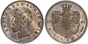 5 Ban Reino de Rumanía (1881-1947) Cobre