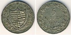 5 Batz  Silver