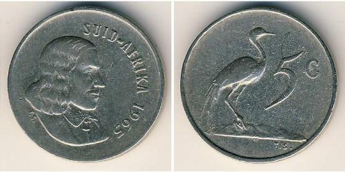5 Cent South Africa 銅/镍