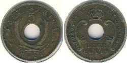 5 Cent East Africa Bronze