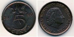 5 Cent Kingdom of the Netherlands (1815 - ) Bronze