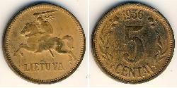 5 Cent Lithuania (1991 - ) Bronze