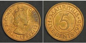 5 Cent Maurice Bronze