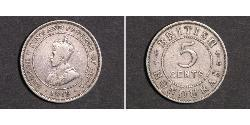 5 Cent British Honduras (1862-1981) Copper/Nickel George V of the United Kingdom (1865-1936)