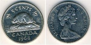 5 Cent Canada Copper/Nickel