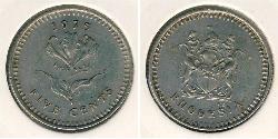 5 Cent Rhodesia (1965 - 1979) Copper/Nickel