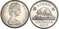 5 Cent Kanada Kupfer/Nickel