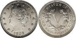 5 Cent Vereinigten Staaten von Amerika (1776 - ) Kupfer/Nickel