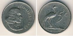 5 Cent Sudáfrica Níquel/Cobre