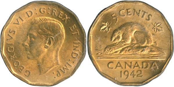 5 Cent Canada Nichel