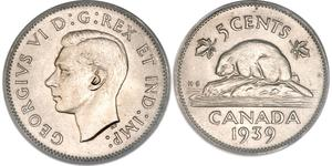 5 Cent Kanada Nickel