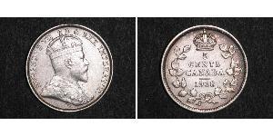 5 Cent Kanada Silber Eduard VII (1841-1910)