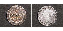 5 Cent Neufundland und Labrador Silber Victoria (1819 - 1901)