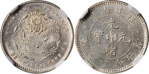 5 Cent Volksrepublik China Silber
