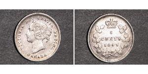 5 Cent Canada Silver Victoria (1819 - 1901)