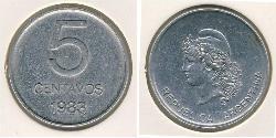 5 Centavo Argentine Republic (1861 - ) Aluminium