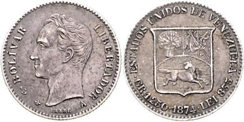 5 Centavo Venezuela Argent