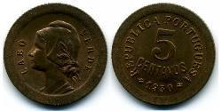 5 Centavo Portugal / Cape Verde (1456 - 1975) Bronze