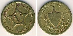 5 Centavo Cuba Rame/Nichel