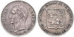 5 Centavo Venezuela Silver