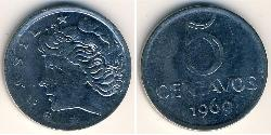 5 Centavo Brasilien Stahl