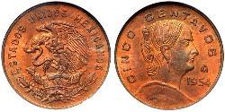 5 Centavo United Mexican States (1867 - )
