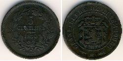 5 Centime Luxembourg Bronze/Copper