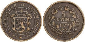 5 Centime Luxembourg Bronze/Copper