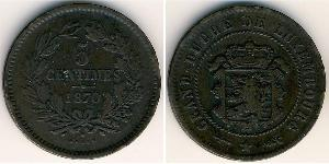 5 Centime Luxembourg (pays) Bronze/Cuivre