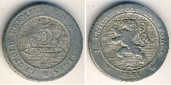 5 Centime Belgium Copper/Nickel