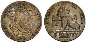 5 Centime Belgio
