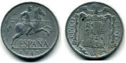 5 Centimo Francoist Spain (1936 - 1975) Aluminium