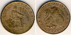 5 Centimo Kingdom of Spain (1814 - 1873) Copper