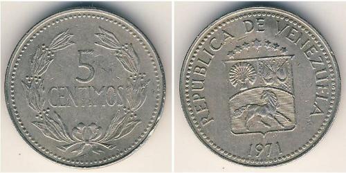 5 Centimo Venezuela Copper/Nickel