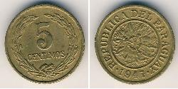 5 Centimo Paraguay (1811 - )