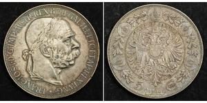 5 Corona Autriche-Hongrie (1867-1918) Argent Franz Joseph I (1830 - 1916)